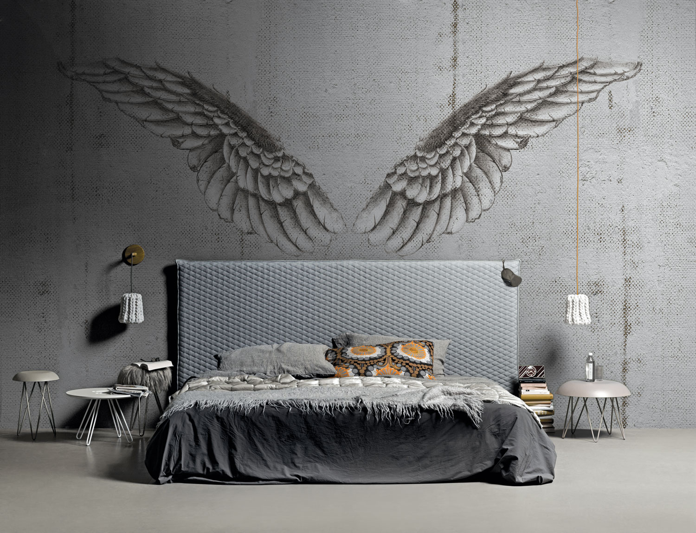 carta da parati artistica altrinterni. Black Bedroom Furniture Sets. Home Design Ideas