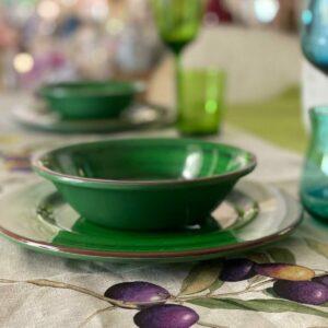 Piatti in melamina – Color verde