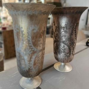 Vasi decorativi in vetro